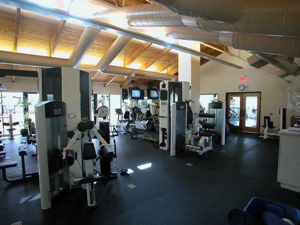 Our fitness areas are fully equipped with top of the line equipment.